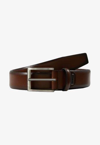 REGULAR - Belt business - mittelbraun