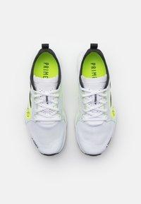 adidas Performance - TERREX SPEED FLOW  - Løpesko for mark - footwear white/core black/solar yellow - 3