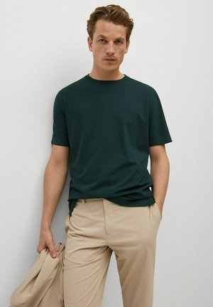 TESLAC - Basic T-shirt - vert foncé