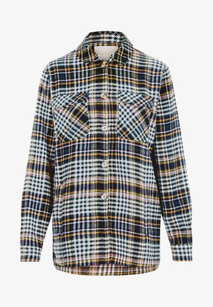 PCSANNE SHACKET - Button-down blouse - ponderosa pine