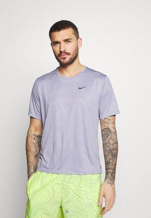 MILER  - Sports shirt - indigo haze/silver