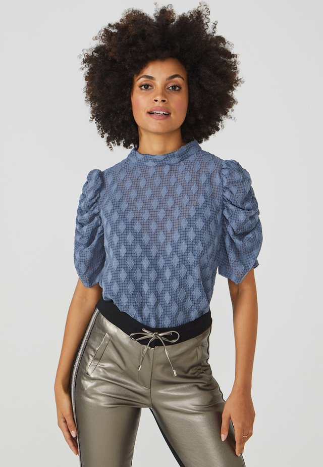 SOYIN DIAMOND PES 541 - Blouse - steel blue