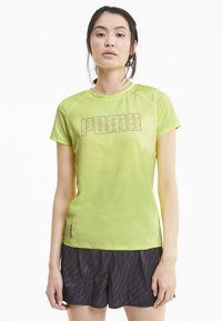Puma - SHORT SLEEVE - T-Shirt print - fizzy yellow - 0
