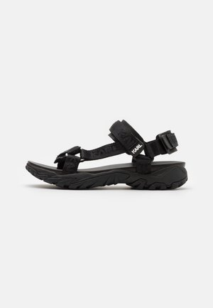 VOLT AKTIV STRAP RUN - Sandalias de senderismo - black