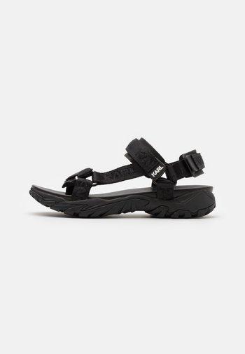 VOLT AKTIV STRAP RUN - Chodecké sandály - black