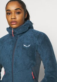 Salewa - TOGNAZZA - Fleece jacket - dark denim melange - 4