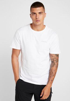 NORTH CASCADES SHORT SLEEVE - Print T-shirt - white/azul