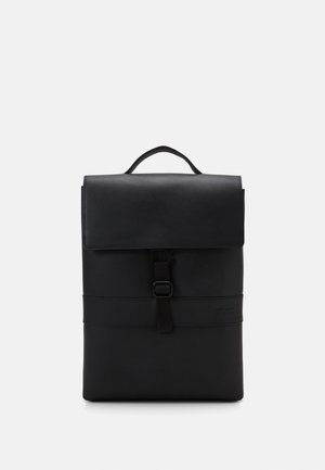 UNISEX LEATHER - Batoh - black