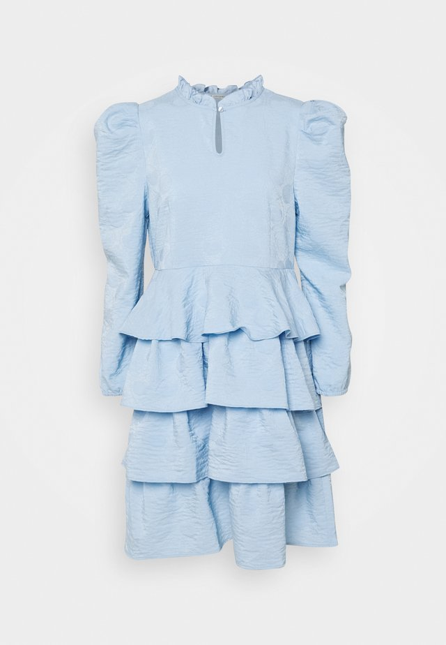 TUNGA DRESS - Day dress - cashmere blue