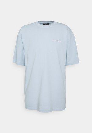 LOGO OVERSIZED TEE UNISEX - Basic T-shirt - washed aqua