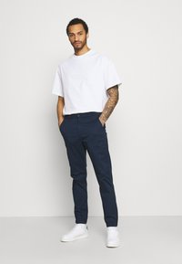 Only & Sons - ONSCAM AGED CUFF - Kangashousut - dress blues - 1