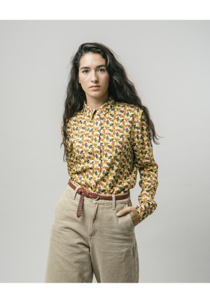 GINKGO  - Button-down blouse - yellow