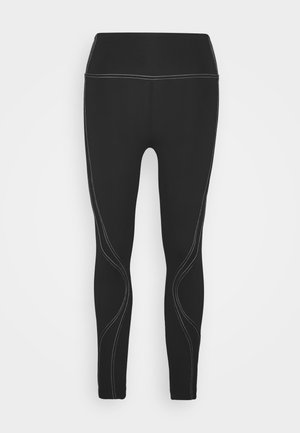 STITCHED TO PERFECTION 7/8  - Leggings - black