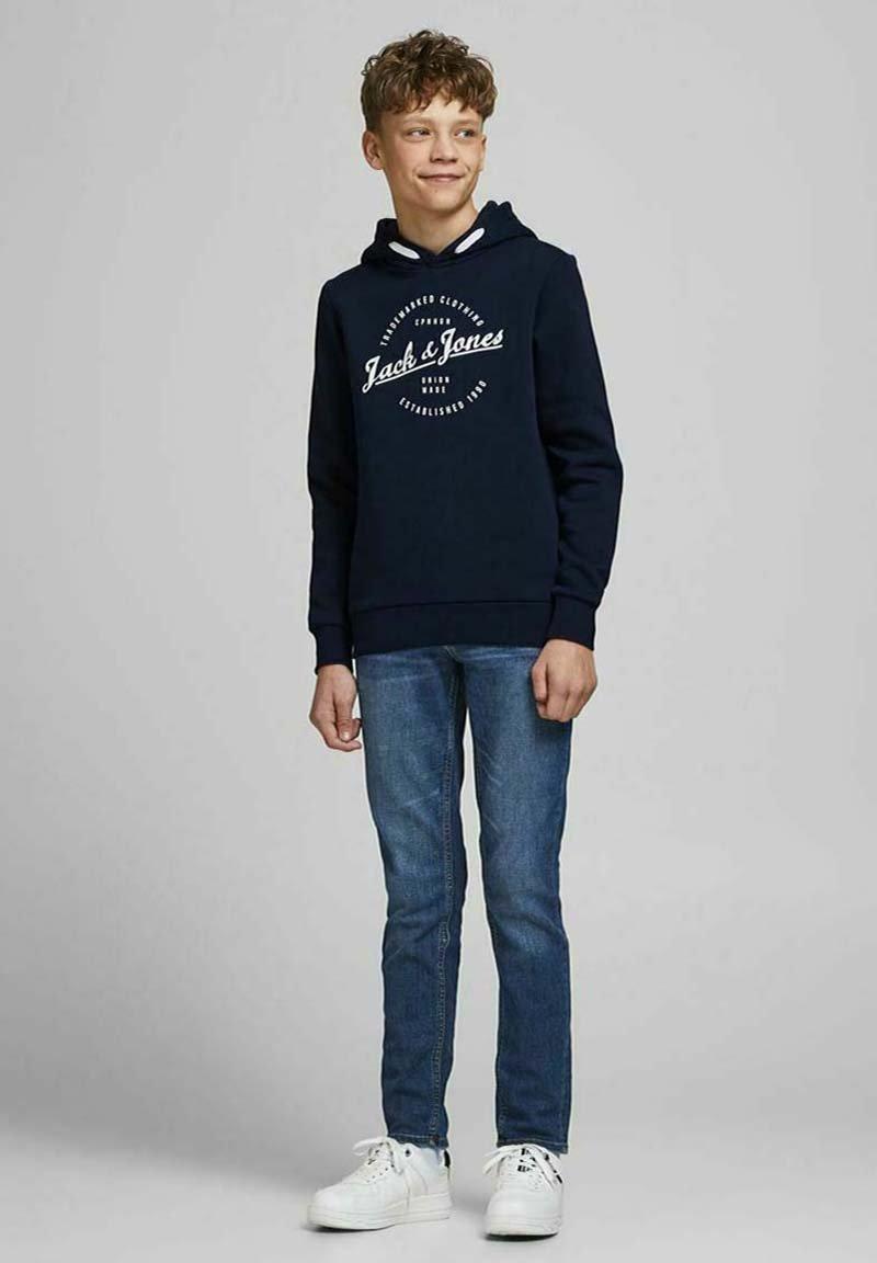 Jack & Jones Junior - Hættetrøjer - navy blazer