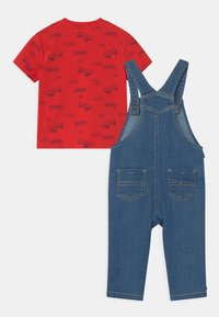 Tommy Hilfiger - BABY SET UNISEX - Salopette - denim medium - 1