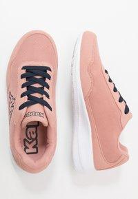 Kappa - FOLLOW - Scarpe da fitness - dark rosé/navy - 1
