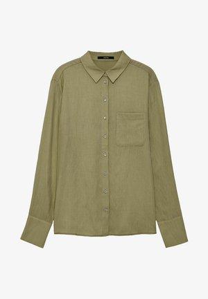ZITA - Button-down blouse - khaki