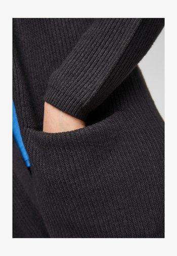 Cardigan - black melange