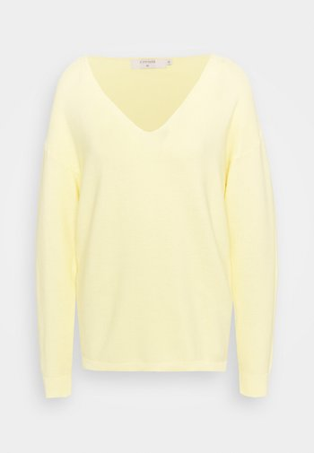 SILLAR  - Jersey de punto - pale yellow delight