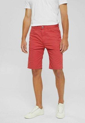 Jeansshort - orange red