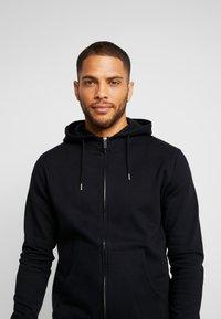 Solid - MORGAN - Zip-up hoodie - black - 5
