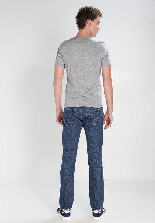 Levi's® 501 ORIGINAL FIT - Jeansy Straight Leg - 502/niebieski denim Odzież Męska ZFJH
