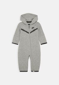 Nike Sportswear - TECH COVERALL - Jumpsuit - dark grey heather - 0