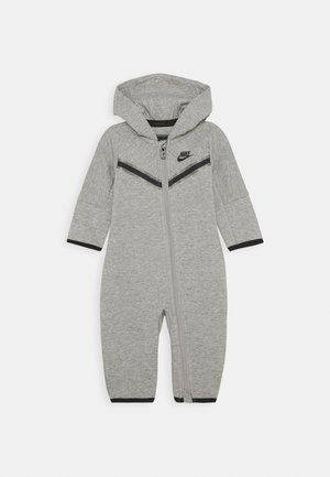 TECH COVERALL - Tuta jumpsuit - dark grey heather