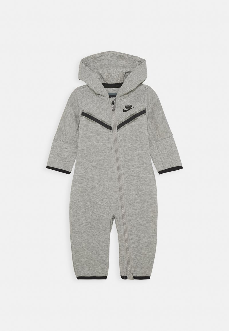 Nike Sportswear - TECH COVERALL - Jumpsuit - dark grey heather