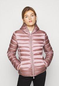 Save the duck - IRISY - Winter jacket - misty rose - 0