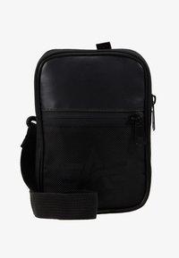 Alpha Industries - UTILITY BAG - Across body bag - black - 6