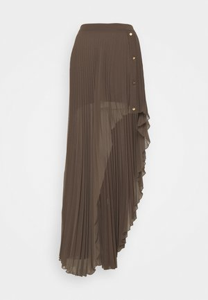 GONNA SKIRT - Maxi skirt - brown