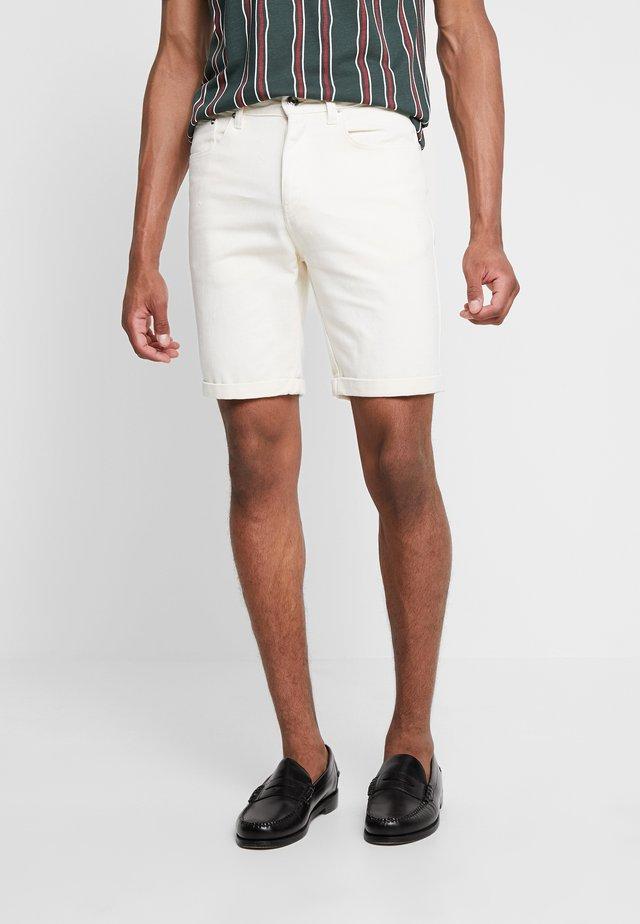 LACK - Shorts di jeans - ecru