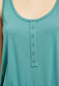 Object - OBJSTEPHANIE MAXI DRESS  - Maxi dress - blue spruce - 4