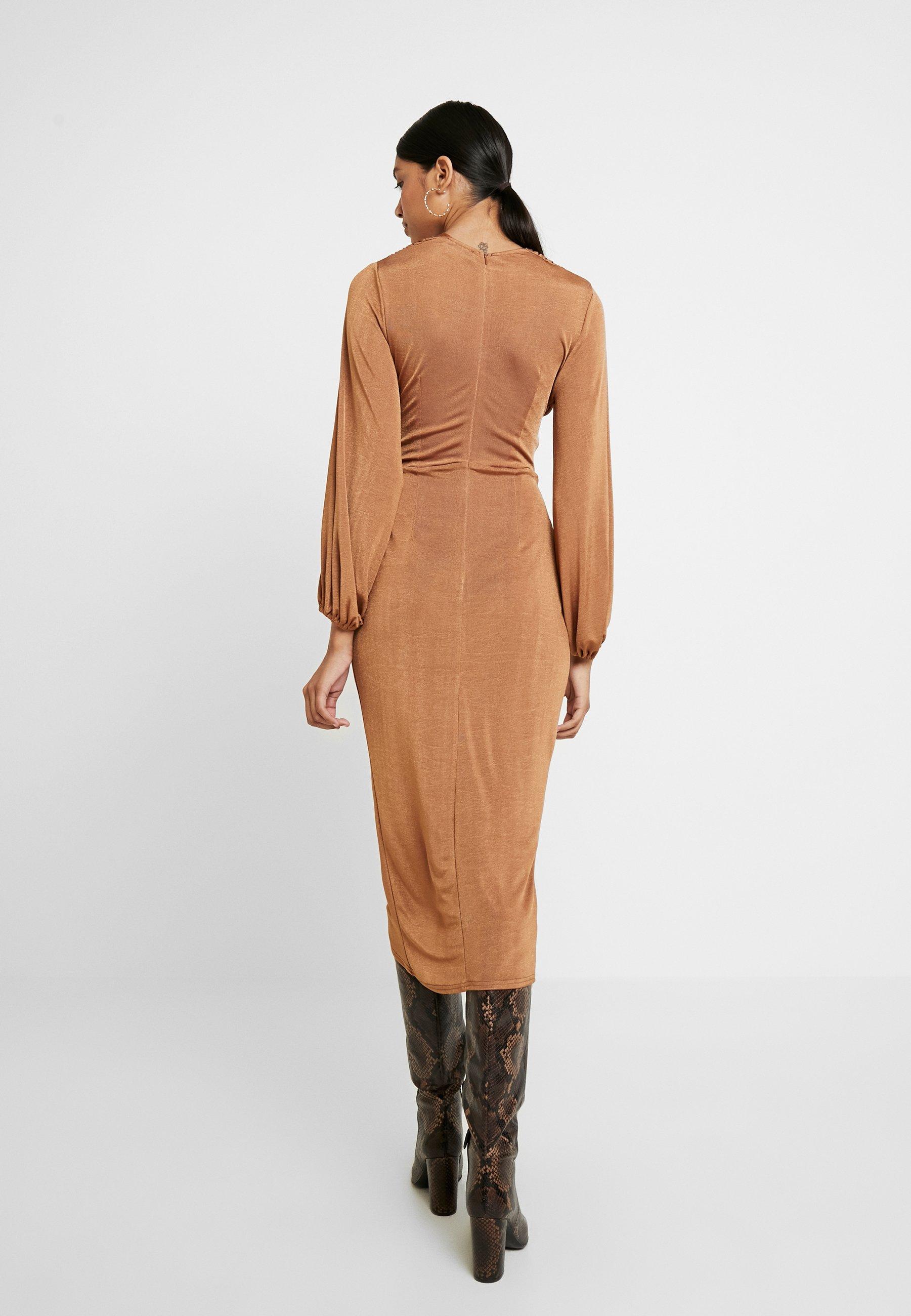 Cool Women's Clothing Closet CLOSET LONDON Cocktail dress / Party dress rust NJxJniJCM