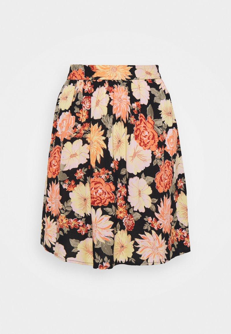 Pieces - PCNYA SKIRT - Mini skirt - black