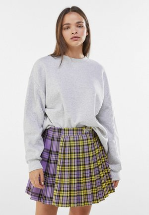 Pleated skirt - mauve