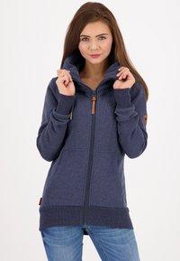 alife & kickin - VIVIANAK - Zip-up hoodie - marine - 0