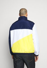 Polo Ralph Lauren Big & Tall - PACE FULLZIP - Lehká bunda - newport navy/yellow - 2