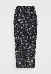 The Kooples - SKIRT - Pencil skirt - black purple - 1