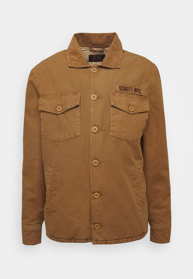 TIMBER - Summer jacket - camel
