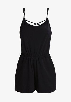 LADIES SHORT SPAGHETTI - Jumpsuit - black