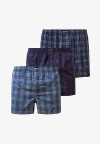 SNOCKS - WOVEN - 3 PACK - Boxer shorts - big check - 6
