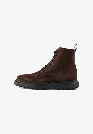 KITE LACE  - Lace-up ankle boots - braun