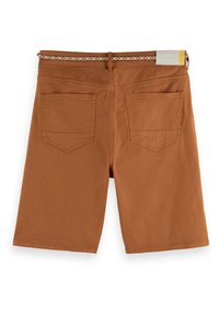 Scotch & Soda - SEASONAL GARMENT DYED 5 POCKET - Shorts - tabacco - 6