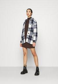 JDY - JDYSARA TONSY NECK DRESS - Jumper dress - bracken - 1