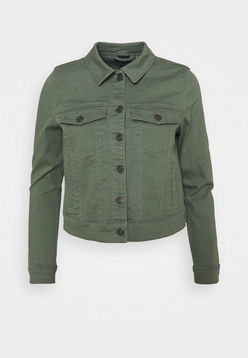 Vero Moda Petite - VMHOTSOYA JACKET  - Denim jacket - laurel wreath