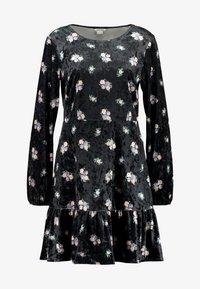 Monki - FIA DRESS - Jerseykjole - black - 5