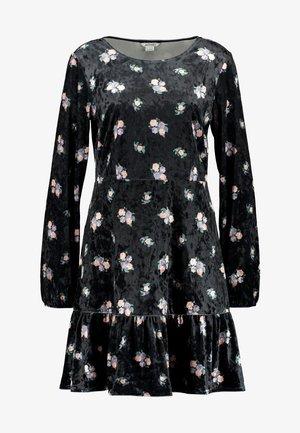 FIA DRESS - Jersey dress - black