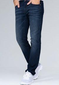 Camp David - Straight leg jeans - blue black vintage - 0